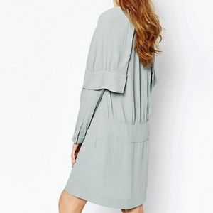 NWT See By Chloe Double Cuff Cape Dress Size 6
